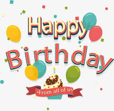retro birthday greeting card happy birthday retro happy png