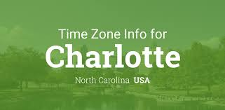 North America Time Zone Map by Daylight Saving Time Dates For Usa U2013 North Carolina U2013 Charlotte