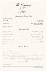 sle of a wedding program wedding reception program sles wedding ideas 2018