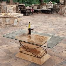 Patio Table Glass Top Glass Patio Table Tops