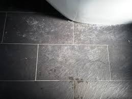 dealing with limescale on slate cleaning and polishing