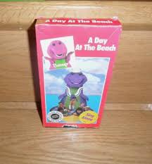 barney u0026 the backyard gang a day at the beach vhs sandy duncan the