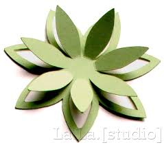 7 best images of 3d flowers templates printables paper flower