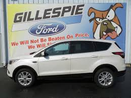 Ford Escape Suv - 2017 ford escape financing near libertyville il gillespie ford