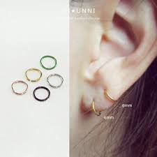 cartilage hoop earring 20g tiny hoop earrings tragus hoop cartilage hoop earring