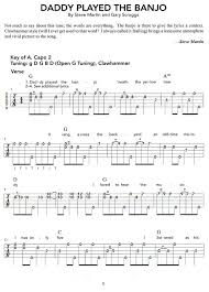 sheet for banjo the new songs for the five string