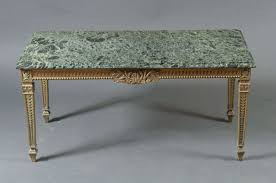 french 1940s marble top table with brass base for sale at 1stdibs