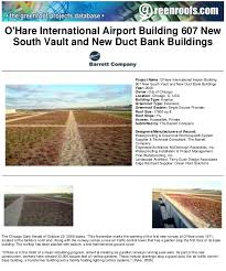 o u0027hare international airport green roof project