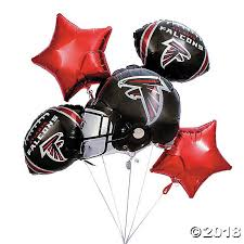 balloon delivery in atlanta atlanta falcons mylar balloons