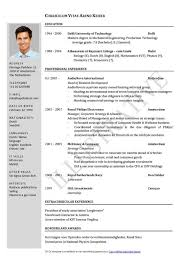 Word Resume Template Word Resume Template Best Resume Formats 47free Sles
