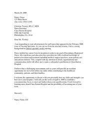 cover letter nursing job cover letter cover letter template for