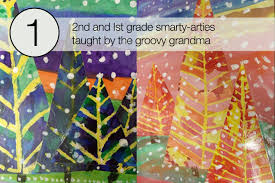 top 5 winter landscapes u2013 art projects for kids artree