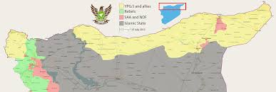 Syria Map Of Control by Turkey And The Kurdish Corridor Why The Islamic State Survives
