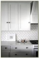 sonoma tilemakers arched herringbone backsplash traditional