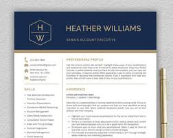 Modern Resume Templates Word Modern Resume Template Professional Resume Template Word