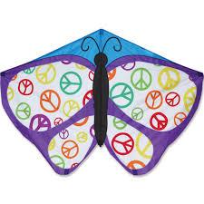 butterfly kite peace premier kites designs