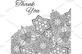Mehndi Cards Henna Flowers Mehndi Design Vector Element With Text Place For