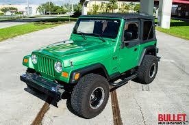 wrangler jeep green 2004 jeep wrangler bullet motorsports