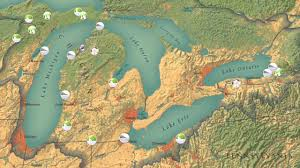 The Great Lakes Map Incredible By Any Measure The Great Lakes Youtube