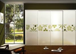 Frosted Glass Closet Sliding Doors Terrific Glass Sliding Door Decals Gallery Ideas House Design