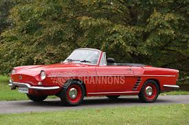 1960 renault dauphine sold renault floride convertible auctions lot 1 shannons