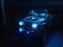 tiffany blue jeep led lights for jeep wrangler unlimited and front bumperviper 4x4