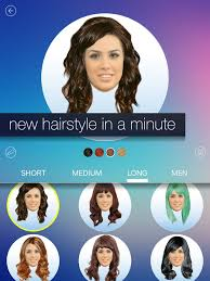 see yourself in different hair color hair makeover new hairstyle and haircut in a minute on the app store