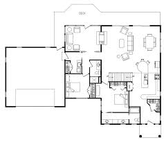 floor plans open concept 24 x 28 open concept floor plan kitchen living room log homes