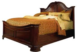 drew cherry grove king mansion bed