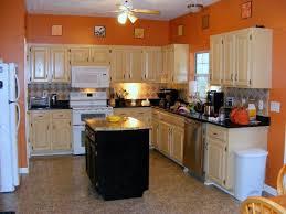 Orange Kitchen Cabinets Best 25 Best Color For Kitchen Ideas On Pinterest Painting