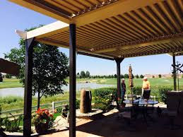 Louvered Roof Pergola by Louvered Awnings