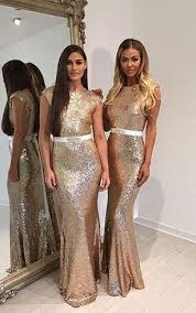 gold bridesmaid dresses gold chagne bridesmaids dresses sequined bridesmaid gowns