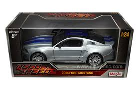 ford mustang 2014 need for speed maisto 1 24 w b need for speed 2014 ford mustang with blue stripes