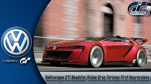Gran Turismo 6 Volkswagen Gti Roadster Vision Gran Turismo First