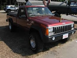 jeep brush truck classic curbside classic 1986 1992 jeep comanche u2013 it coulda been