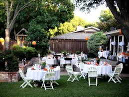 Backyard Wedding Ideas Backyard Backyard Wedding Decorations Living Room Wedding