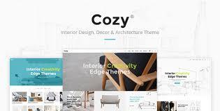 Interior Design Themes Cozy Interior Design Decor U0026 Architecture Theme By Edge Themes