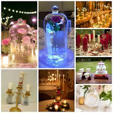 beauty and the beast wedding table decorations beauty and the beast wedding theme