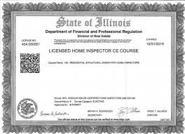 Design For Home Free Illinois Continuing Education Courses For Home Inspectors