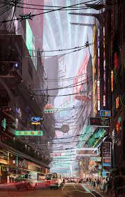 180 best cyberpunk env images on pinterest cyberpunk cities and