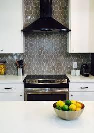 white kitchen cabinets with hexagon backsplash awesome grey kitchen backsplash ideas yentua kitchen