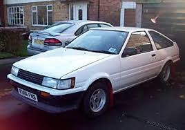 toyota corolla gt coupe ae86 for sale toyota corolla ae86 gt 16v rwd road rally car 4 000 00