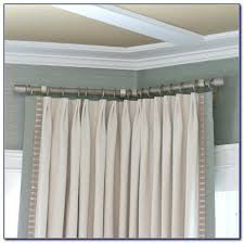 Window Curtains Rods Corner Window Curtain Rod Connector Curtain Home Decorating