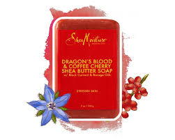 dragon u0027s blood u0026 coffee cherry shea butter soap