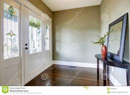 Table For Hallway Entrance by Entrance Hallway With Table And Mirror Stock Photo Image 44716092