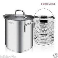 insert cuisine cuisine pasta stock pot with insert 18 10 stainless steel