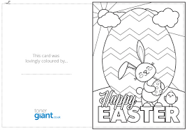 easter card template printable easter card printable easter card