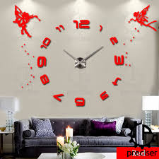 Wall Clock Modern Compare Prices On Large Digital Wall Clock Online Shopping Buy