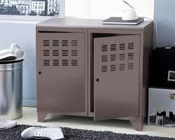 meubles pour veranda meubles rangement metallique