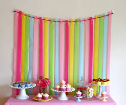 bulk crepe paper streamers pretty and inexpensive party backdrop made from crepe paper